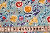 HILCO Jersey Retro Flower Digitaldruck