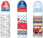 Disney Baby Feeding Bottle, Cars,  0+ Months, Pack of 3, 11 oz (320 ml)