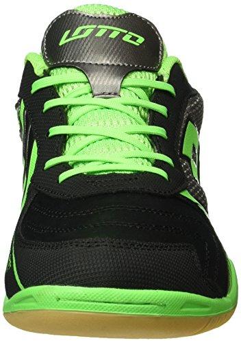 Lotto Tacto II 500, Chaussures de Foot Homme Noir (Blk/Mint Fl)