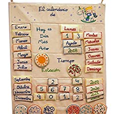 Mi Primer calendario Personalizado en castellano: Amazon.es ...