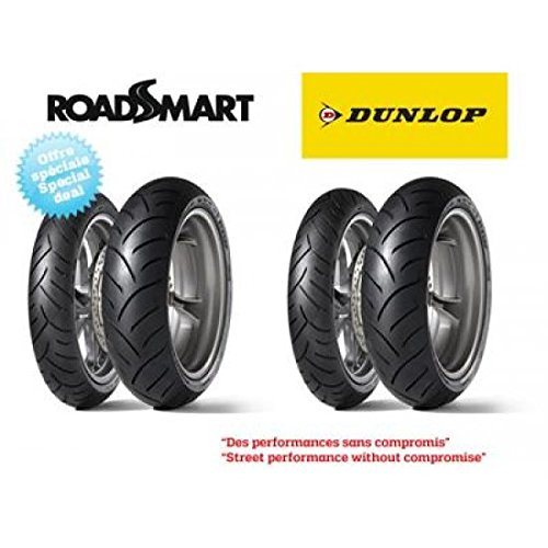 Pack de 4 pneus sport-touring dunlop roadsmart (2x 120/70... - Dunlop 5740020004