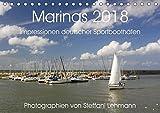 Marinas 2018. Impressionen deutscher Sportboothäfen (Tischkalender 2018 DIN A5 quer): Faszination Yacht- und Sportboothäfen (Monatskalender, 14 Seiten [Kalender] [Apr 01, 2017] Lehmann, Steffani