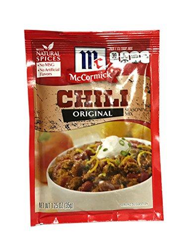 inal Seasoning Mix 1.25 oz by McCormick (Chili Seasoning Mix)