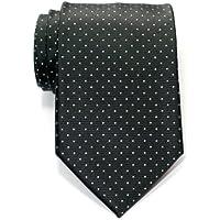 Retreez Pin Pois Tessuto in microfibra da uomo cravatta–Vari colori