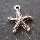 Oceanic Charms | Starfish | Pack of 4 | Variety of Pack Sizes | Free Delivery