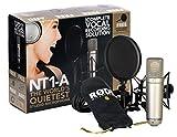 Rode NT1-A - Micrófono (Etapa/rendimiento, 20-20000 Hz, Cardioid, Alámbrico, 326g, 780g) Oro