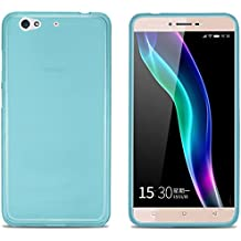 FUNDA de GEL TPU para WEIMEI WE PLUS COLOR AZUL