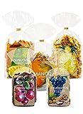 Trockenfrüchte Mix Mit Studentenfutter ● Ungeschwefelt ● Cranberries ● Jackfrucht ● Ananas ● Mango ● 5 x 250 g ● KoRo Drogerie