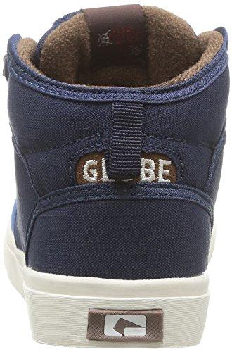 Globe Motley Mid Kids Fur Jungen Outdoor Fitnessschuhe Blau - Bleu (13196 Blue/Dark Blue)