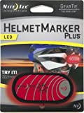 Nite HMP-03 Casque Marker LED Plus-Rouge