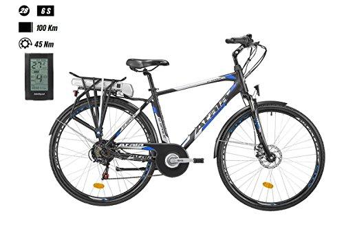 Atala Bike e-Space Man 400286-v TG. 49Bafang 418WH A800S 2018(City Bike Werkzeugset)