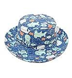 Superora Sonnenhut Hat kids Kinderhut UV-Schutz Strandhut Baumwolle Sommermütze für