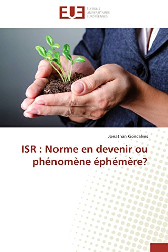 Isr : norme en devenir ou phnomne phmre?
