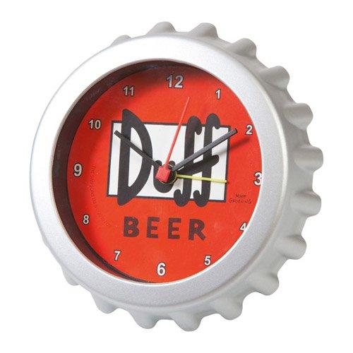 Reloj despertador forma cerveza DUFF Simpson 12cm