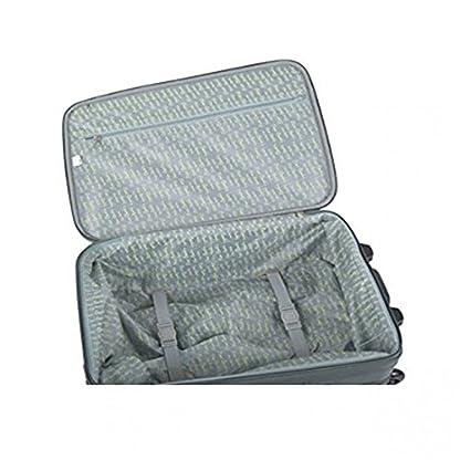 51kYzls72NL. SS416  - Carro a partir viaje semirrígido maleta PIERRE CARDIN gris el equipaje en la mano avión FG1775G 53x18x34cm