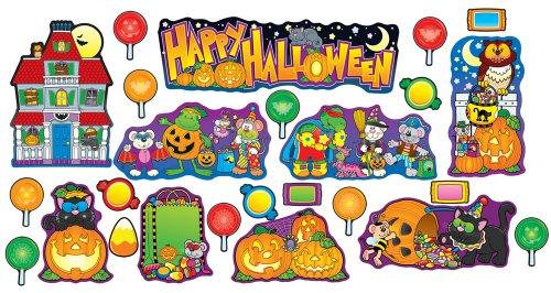Für Klassenzimmer Dekorationen Halloween (Halloween Bulletin Board Set)