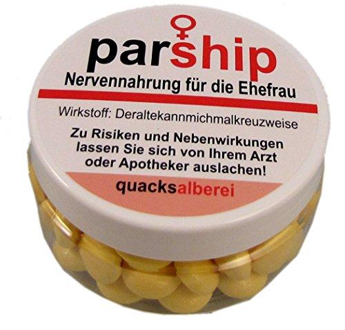 "quacksalberei Lustige Pille\""parship\"" für die Ehefrau"