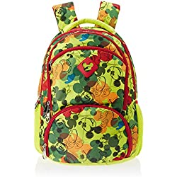 Mickey Mouse Green Schoolbag (SEPL414338)