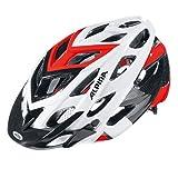 Alpina bike helmet D Alto White White-Black-Red Size:57-61 by Alpina