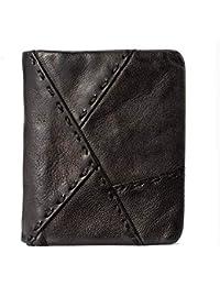 WeoHau Embroidered Zipper Tassel Wallet Ladies Pu Short Student Cute Simple Small Fresh