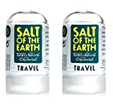 (2 PACK) - Salt Of/Te Natural Deodorant - Travel Size | 50g | 2 PACK - SUPER SAVER - SAVE MONEY