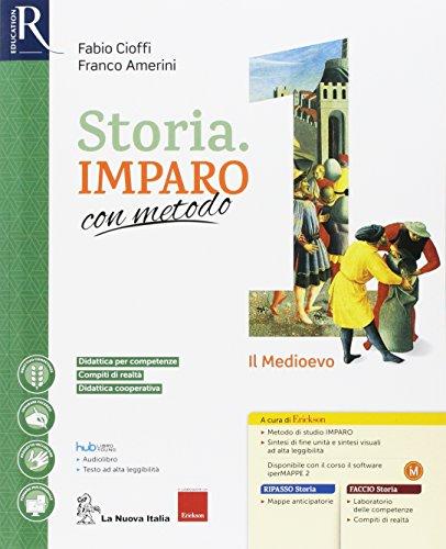 Storia imparo con metodo. Per la Scuola media. Con e-book. Con 2 espansioni online. Con 3 libri: Ripasso-Quaderno-Atlante: 1