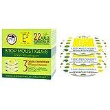 E2Stop Mücken Box Trio-Kapseln mit 28ätherischen Ölen natürlichen Moskitofenster–Diffusor Iris