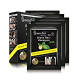Swarzstar Hair Colour Shampoo 250 ml (Pack of 10 Sachets = 25ml*10 Sachets)