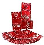 beties Adventskalender Wichtelliebe Alvina & Alvin 24 Papier Tüten zum einfachen Befüllen & Dekorieren