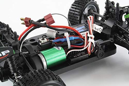 RC Auto kaufen Truggy Bild 2: HSP Truggy Ghost Pro brushless 1:18 4WD Grün 94803Pro/80397 | Fahrspaß auf kleinsten Raum | Fahrfertiges 1:18 RC-Car | 2.4 Ghz Sender | Ladegerät 250mAh (Ladezeit ca. 5 Stunden) | Fahrakku NiMH 7,2V mit 1100 mAh | Allradantrieb mit 5470kv Brushless Motor | Länge ca. 275mm | Breite ca. 170mm | Höhe ca. 100mm | Radstand ca.160mm*