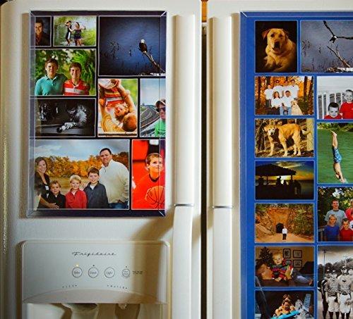 Fridgemag, The Ultimate Refrigerator Magnet Frame fridgemag 10150025,4x 38,1cm Magnetische Kühlschrank Tür und Küche Organizer, Foto Collage Rahmen-Geschenkidee für Weihnachten -