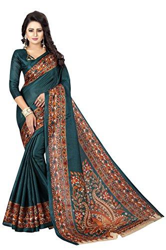 Kanchan Women's Silk Saree (KANCHAN17_Multi Coloured)