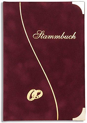 Stammbuch der Familie Renkaat Familienstammbuch Bordeaux Hochzeit