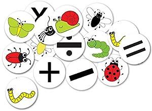 Inspirational Classrooms 3158330 - Figura Decorativa de número de contadores de Insectos, Juguete Educativo