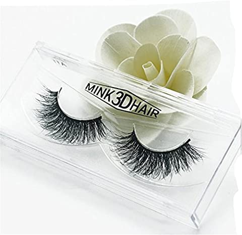 HENGSONG 3D Artificial Hair False Eyelashes Natural Thick Eye Lashes