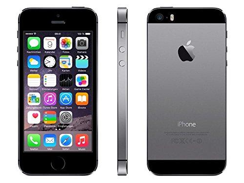 Apple iPhone 5S Smartphone 16GB (10,2 cm (4 Zoll) IPS Retina-Touchscreen, 8 Megapixel Kamera, iOS 7) Spacegrau - 2