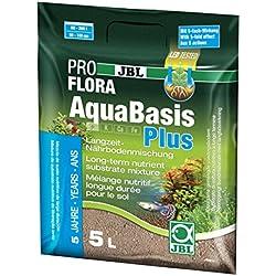 JBL AquaBasis plus. Sustrato enriquecido, 5 Litros