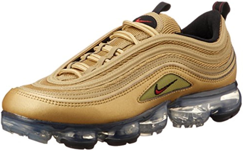 cb283e1942 Nike Scarpe Uomo scarpe da ginnastica Air Vapor Max 97 oro Tessuto ...