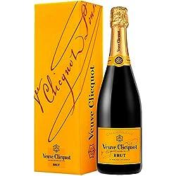 Veuve Clicquot Champagne Brut avec emballage cadeau 75 cl