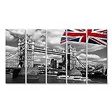 bilderfelix® Bild auf Leinwand London Tower Bridge mit