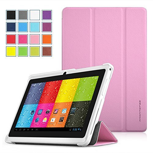 Prontotec SlimFit Series Schutzhülle für 17,8 cm (7 Zoll) Android Tablet (kompatibel mit: Dragon Touch 7 Zoll Y88, A13 Q88, Matricom G-Tab Nero CX2, ProntoTec 7 Zoll Y88, ProntoTec Axius Series 7