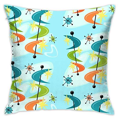 "tiao9143 Kissen werfen,Zierkissenbezüge,Big Boomerangs in Orbit Pillow Cover 18\""X18\""Pillow Case Cushion for Sofa Decorative"