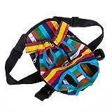 Robuste Angenehmes Segeltuch Stoff Kopf Out Design Pet Puppy Hund vorne Tasche Pack Rucksack für kleine Hunde tragbar für Outdoor Reisen Wandern