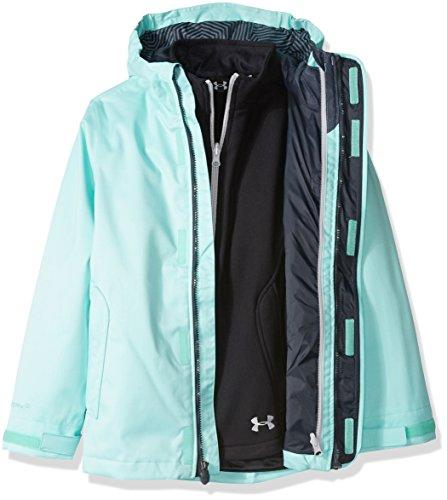 Under Armour ColdGear Infrared Gemma 3-in-1-Jacke für Mädchen kristall