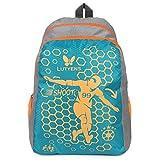 #9: Lutyens Polyester Aqua Grey School Bag(21Litre)(Lutyens_269)