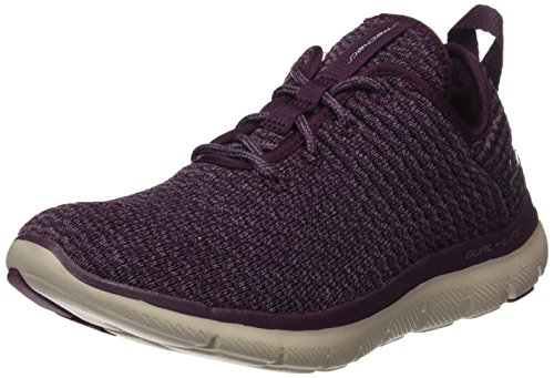Skechers Damen Flex Appeal 2.0-Bold Move Ausbilder, Violett (Plum), 38 EU (Bold Moves)