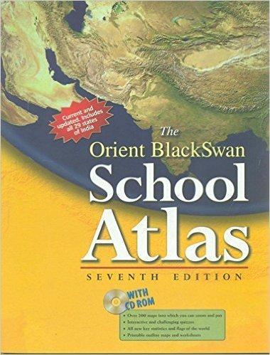 The Orient Blackswan School Atlas with CD