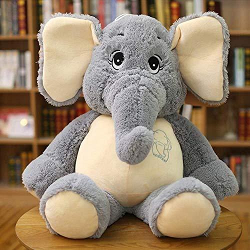 MYETO Plüsch Spielzeug Kinder Plüsch Elefant, Weiche Beschwichtigung Elefant Playmate Puppe Baby Spielzeug Elefant Kissen Plüsch Zeug Geschenk An Girlfrien D 38Cm