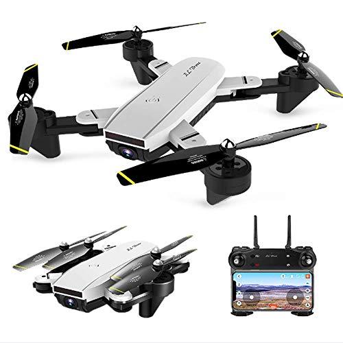 Meteor fire FPV RC Faltdrohne, 1080P Dual Kamera Luftbild Quadcopter Unterstützung Geste Foto/Video Palm Control Bild Folgen, für Kinder & Anfänger