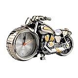 Lovelysunshiny Motorrad Motorrad Muster Wecker Kreative Heimat Geburtstagsgeschenk Coole Uhr